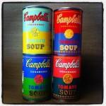 campbell,campbell's soup,warhol,pop art,nymeo,chanut